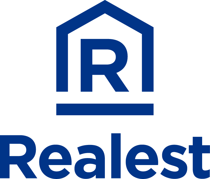 Realest Logo - Vertical Ver